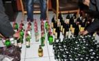 الشرطة تلقي القبض على مهاجرة افريقية بحوزتها 396 لتر من الخمور