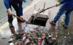 انتشال جثث ثلاثة عمال ماتوا اختناقا داخل قناة للصرف الصحي