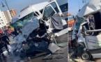 مصرع أربعة أشخاص من بينهم امرأة إثر إصطدام عنيف بين حافلتين لنقل العمال