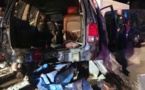 بالفيديو.. العثور على 7 مهاجرين سريين مختبئين داخل سيارة نفعية إصطدمت بأحد المنازل