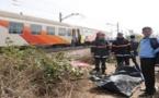 """مفجع.. قطار يحوّل جسد شابّ إلى أشلاء متناثرة بمنطقة """"صاكا"""" بعد انطلاقه من الناظور"""