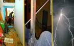 بالصور.. صاعقة رعدية تردم ثلاثة منازل قرب الحسيمة والألطاف الإلهية تحول دون تسجيل إصابات في الأرواح