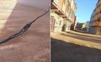 بالصور..  أسلاك كهربائية عارية تهدد حياة المواطنين بجماعة دار الكبداني