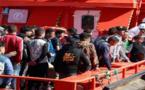 البحرية الإسبانية تُنقذ 48 مهاجرا مغربيا ضمنهم امرأتين وطفل قاصر