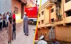 بالصور.. تماس كهربائي يتسبب في اندلاع حريق داخل منزل بمدينة العروي