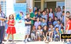 اطفال يزورون المركز الجهوي للمعهد الوطني للبحث في الصيد البحري بالناظور على هامش منتدى البيئة والقراءة