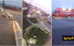 حادثة سير ببلدة كرونة تغرق المنطقة لساعات في ظلام دامس