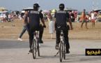 كورنيش الناظور يتعزز بفرقة أمنية للدراجات الهوائية مختصة في مراقبة المناطق السياحية