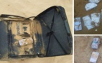 بالصور: أمواج بحر أكادير تلفظ 3 حقائب ممتلئة بالنقود