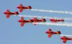 القوات الملكية الجوية تنظم استعراضات جوية على مشارف شواطئ المضيق والريفيين ومارتيل