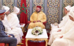 الملك محمد السادس يستقبل بتطوان أعضاء الوفد الرسمي المتوجه إلى الديار المقدسة لأداء مناسك الحج