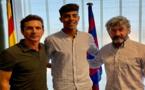 برشلونة يتعاقد مع مدافع مغربي في الـ 16 من عمره