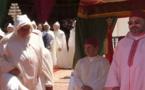 الملك يستقبل بنكيران والعماري واليوسفي بطنجة احتفالا بعيد العرش المجيد