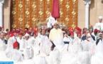 الملك محمد السادس يترأس حفل الولاء بساحة مشور القصر الملكي بتطوان