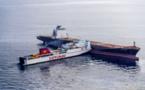 حادثة بحرية.. اصطدام باخرة على متنها أفراد الجالية وسفينة للبضائع قبالة طنجة
