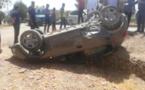 إصابة شخصين في حادث انقلاب سيارة بين جماعتي ميضار وإفرني