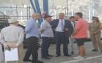 والي الجهة وعامل الإقليم يتفقدان عملية عبور أفراد الجالية بميناء الحسيمة