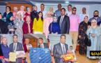 أطر وموظفو مندوبية التعاون الوطني بالناظور يكرمون المندوب السابق عبد الرحيم لمباركي بعد انتقاله