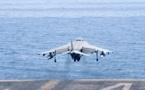 مصرع شخصين جراء تحطم طائرة تدريبية لسلاح الجو الإسباني بسواحل مالقا