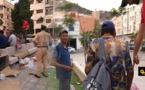 """حملة تمشيطية لتحرير حديقة """"3 مارس"""" وسط الناظور من المتشردين والحراكة ومدمني المخدرات"""
