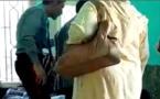 """شاهدوا الفيديو.. هـذا مصير """"عون حراسة"""" بمقر وزارة التربية الوطنية قال لمواطنة: أنا هو الملك"""