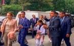 ظهور لالة سلمى في صورة جديدة رفقة ابنيها ولي العهد ولالة خديجة بأمريكا تلهب رواد الفايسبوك