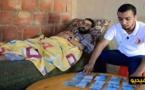 بالفيديو.. محسنون يتبرعون بـ10 مليون سنتيم لفائدة أب لأطفال صغار يعاني من مرض عضال من تمسمان