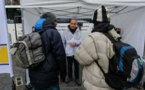 مهاجرون بدون أوراق إقامة يحتجون في بروكسل للمطالبة بحق العمل