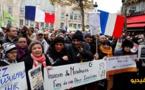 شاهدوا بالفيديو.. مسيرة ضخمة في باريس ضد  الخوف من الإسلام