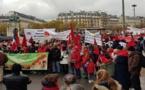 حضور بارز للجالية المغربية المقيمة ببلجيكا في مسيرة باريس بمناسبة المسيرة الخضراء