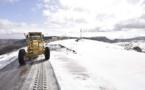 آليات مجلس جهة الشرق تفك العزلة عن المناطق الجبلية المتضررة من تساقط الثلوج