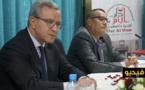 تنسيقية المجتمع المدني بالناظور تكرم وزير العدل والحريات السابق محمد أوجار