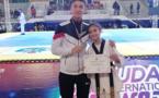 """البطلة الواعدة مريم شبى إبنة الدريوش تحرز المركز الثاني في بطولة دولية لـ""""التيكواندو"""" بوجدة"""
