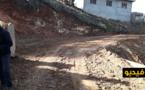 """ساكنة دواوير جماعة """"إجرمواس"""" تتطوع بمساحات أرضية في ملكيتها الخاصة لفتح مسلك طريقي لفك العزلة"""