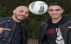 الدولي الريفي نور الدين أمرابط يساعد شقيقه سفيان لحسم مستقبله الكروي