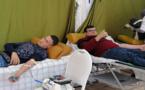 """الحسيمة.. انطلاق حملة للتبرع بالدم تحت شعار """"يالاه نتنافسو باش نتبرعو بالدم من أجل الحياة"""""""