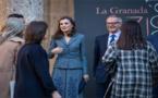 ملكة اسبانيا وإبنة الناظور ليلى أمزيان تفتتحان معرض الفنون الامازيغية بغرناطة