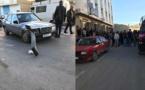 بالصور.. نقل تلميذة الى المستشفى بعد إصابتها في حادثة سير بجماعة قاسيطة