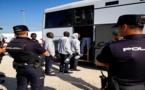 إسبانيا تُرحل 40 مهاجرا إلى المغرب أبحروا من السواحل الشمالية