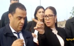 """شاهدوا بالفيديو.. نزهة بوشارب تتفقد أشغال مشروع القطب الحضري """"سيدي العابد"""" بالحسيمة"""