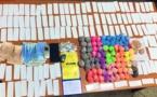 بالصور..  توقيف شخص كان يقود سيارة على متنها 10.800 قرص مخدر