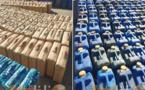 محجوزات شبكة تهريب المخدرات بالكبداني.. أطنان من الحشيش وسيارات مزورة ومحركات زوارق