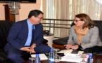 الحساني وبودرا يتدارسان إمكانية تنظيم مشترك للقاء دولي حول تعزيز الديمقراطية المحلية