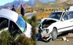 إصابة شخص في حادثة سير مروعة بين سلوان وزايو
