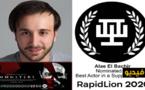 علاء البشيري يترشح لجائزة أحسن ممثل عن دوره في الوحوش بجنوب إفريقيا