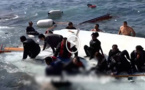 """كانوا متجهين للجزر الإسبانية.. وفاة 14 """"حراكا"""" بينهم طفلان في حادث غرق قارب للهجرة السرية"""
