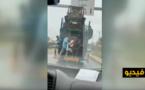 فيديو سرقة الحراكة لسيارات الرالي بالناظور يتحول إلى مادة دسمة على قناة دولية