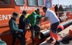 بالصور.. إنقاذ 18 مهاجرا مغربيا قرب سواحل غرناطة
