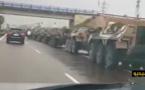 الجيش ينزل لشوارع العاصمة الاقتصادية ساعات قبل دخول البلاد في حالة الطوارئ الصحية