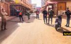 سلطات بني أنصار تغلق السوق اليومي وهذا ما قررته بسبب حالة الطاورئ الصحية